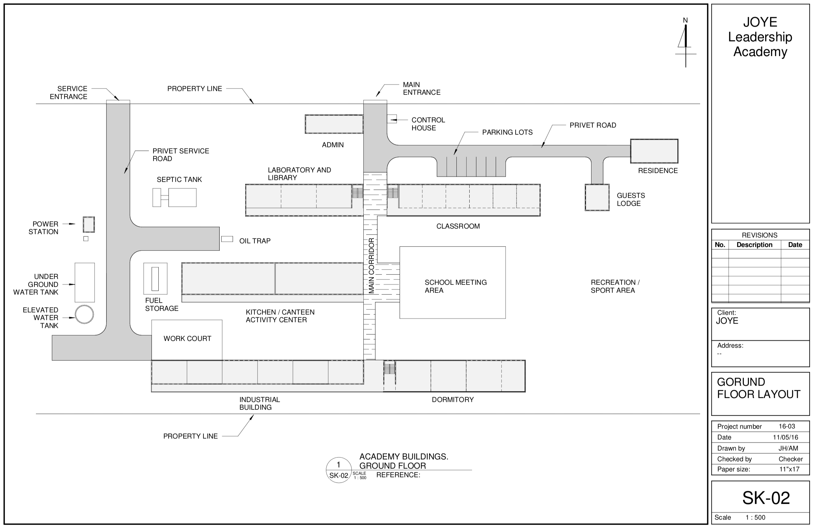 academy floorplan